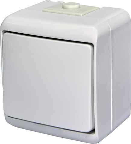 Купить Выключатель  VHE-1 одноклавишный IP44 белый ETI 4668000 + ☎ (067) 440 53 73 ✓ лучшие цены ✓ постоянные акции и скидки ✓ отзывы ✓ точка выдачи в Киеве