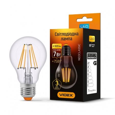 Купить недорого Лампа Filament A60F E27 7Вт 920Лм 4100К Videx VL-A60F-07274 (23671) ☎ (066) 882 49 97 ✓ лучшие цены ✓ бесплатная доставка по Украине ✓ отзывы и фото ✓ точка выдачи в Киеве