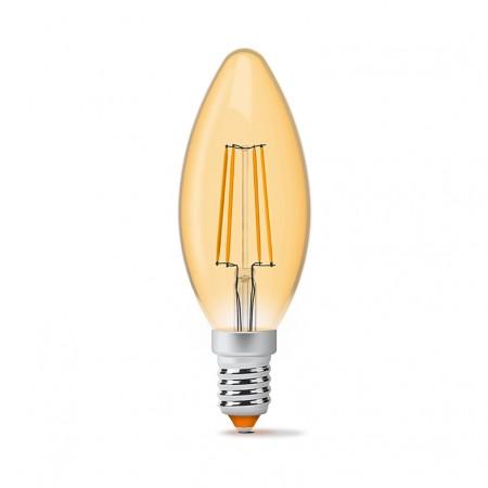 Купить Лампа Filament бронза C37FA E14 4Вт 440Лм 2200К Videx VL-C37FA-04142 (23682) ☎ (067) 440 53 73 ☎ (066) 882 49 97 ✓ лучшие цены ✓ постоянные акции и скидки ✓ отзывы ✓ точка выдачи в Киеве
