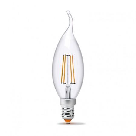 Купить недорого Лампа Filament C37Ft E14 4Вт 440Лм 4100К Videx (23684) ☎ (066) 882 49 97 ✓ лучшие цены ✓ бесплатная доставка по Украине ✓ отзывы и фото ✓ точка выдачи в Киеве