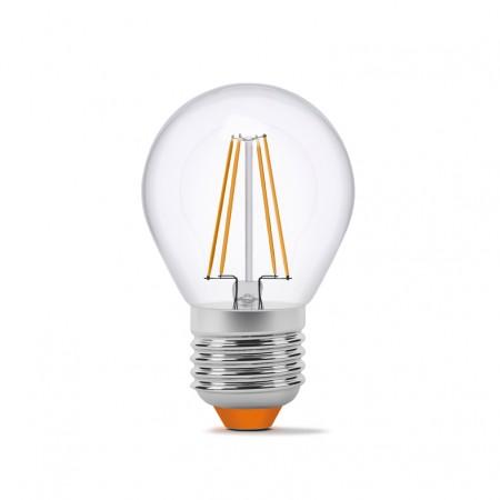 Купить недорого Лампа Filament G45F E27 4Вт 360Лм 3000К Videx VL-G45F-04273 (23686) ☎ (066) 882 49 97 ✓ лучшие цены ✓ бесплатная доставка по Украине ✓ отзывы и фото ✓ точка выдачи в Киеве