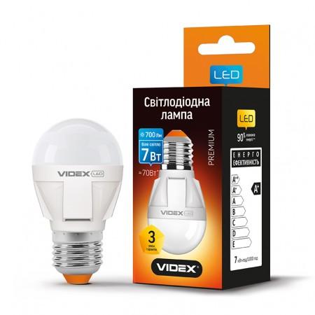 Купить недорого Лампа G45 E27 7Вт 700Лм 4100К Videx VL-G45-07274 (23883) ☎ (066) 882 49 97 ✓ лучшие цены ✓ бесплатная доставка по Украине ✓ отзывы и фото ✓ точка выдачи в Киеве
