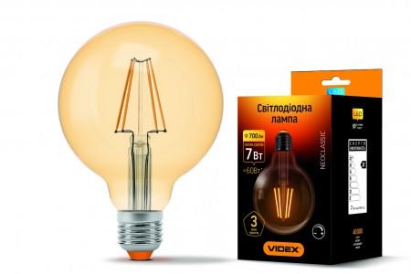 Купить Лампа Filament бронза диммерная G95FAD E27 7Вт 700Лм 2200К Videx VL-G95FAD-07272 (23977) ☎ (067) 440 53 73 ☎ (066) 882 49 97 ✓ лучшие цены ✓ постоянные акции и скидки ✓ отзывы ✓ точка выдачи в Киеве