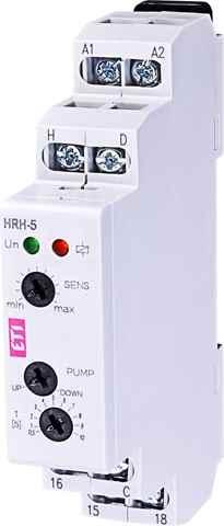 <p>Описание: <strong><br/>Реле контроля уровня жидкости HRH-5 UNI 1x16 24/240 ETI 2471715</strong><br/>Номинальный ток, А: <strong>1x16</strong><br/>Номинальное напряжение, В: <strong>24/240</strong></p>