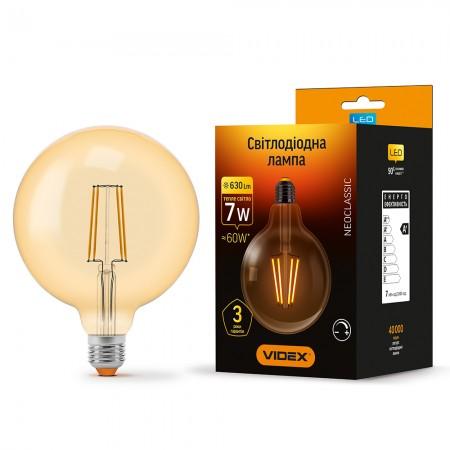 Купить Лампа Filament диммерная G125FAD E27 7Вт 600Лм 2200К Videx VL-G125FAD-07272 (24561) ☎ (067) 440 53 73 ☎ (066) 882 49 97 ✓ лучшие цены ✓ постоянные акции и скидки ✓ отзывы ✓ точка выдачи в Киеве