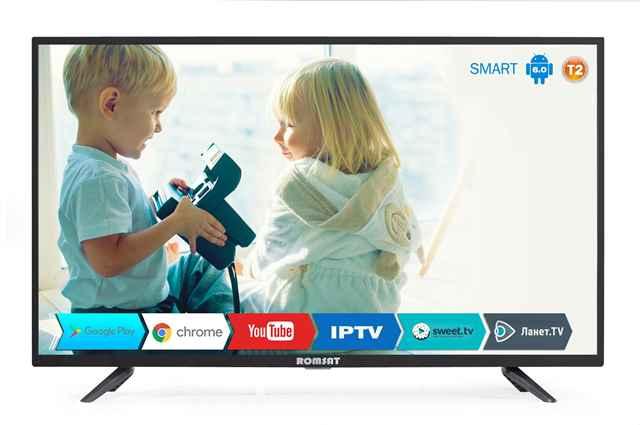 Купить Телевизор DLED VA 40 Romsat 40FSK1810T2 ☎ (067) 440 53 73 ✓ лучшие цены ✓ постоянные акции и скидки ✓ отзывы ✓ точка выдачи в Киеве